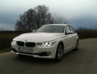 Primo test drive BMW 320d EfficientDynamics Edition